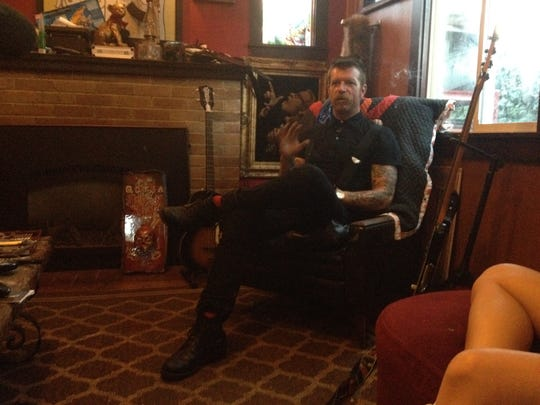 Jesse Hughes of Eagles of Death Metal is featured in