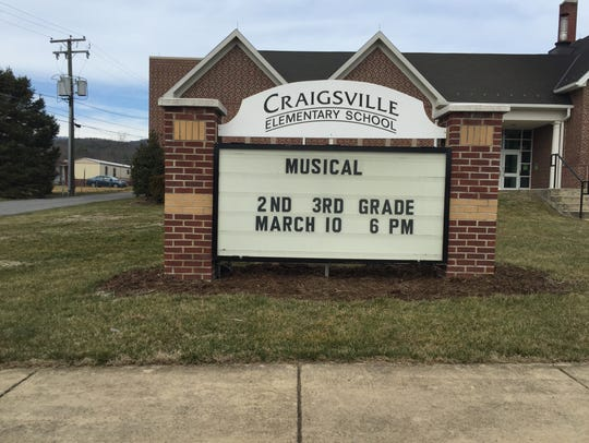 Craigsville Elementary School was built in 1932 but