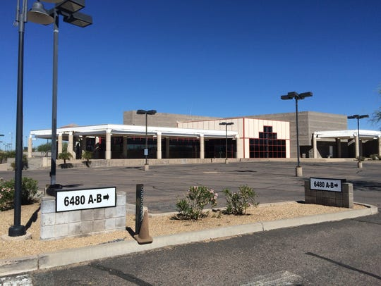 Once a bustling hub of five auto dealerships along