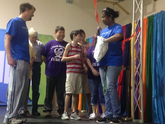 Austin Moore, 13, of Millbrook was granted his wish
