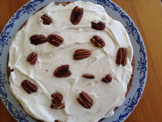 Nicandra Galper offered a gluten-free Parsnip Pecan