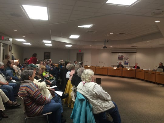 The Door County League of Women Voters hosted a forum
