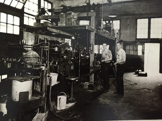 Warren and George Fort, founders of the 90-year-old business now known as Fort's Industrial Engines.