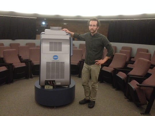 The new planetarium at Hartnell College will feature an upgrade of the Mediaglobe projector.