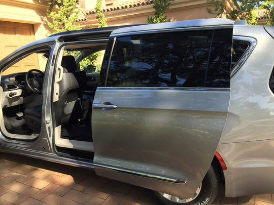 FCA reduced the weight of the sliding doors on its 2017 Chrysler Pacifica minivan by using aluminum instead of steel.