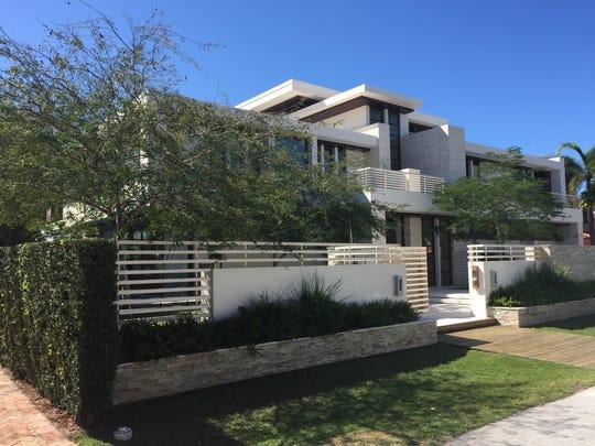 Gil de Ferran designed his dream home along a canal in Ft. Lauderdale, Fla.