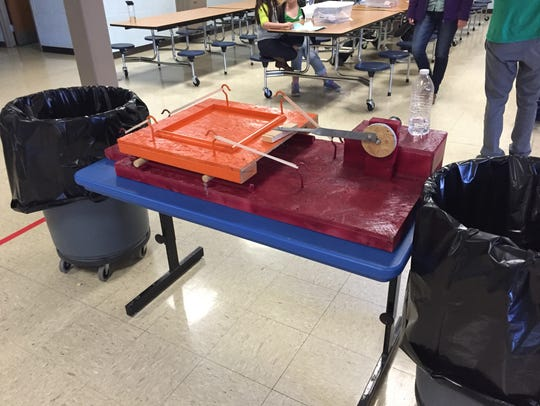 During Thursday's STEM Academy, students tested the