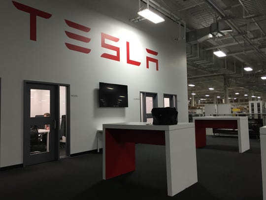 Tesla requested employees not be photographed to protect