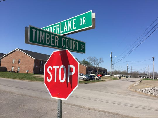 A cross-county chase Friday morning began on Timber