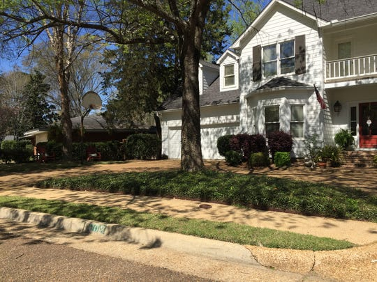 The water inside a large white home on Newland Street tested positive for 476 parts per billion of lead, the highest concentration of lead in reports obtained by The Clarion-Ledger.