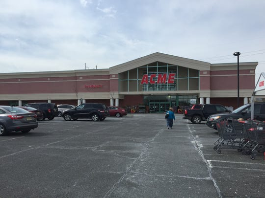 Acme took over this old A&P in Tinton Falls.