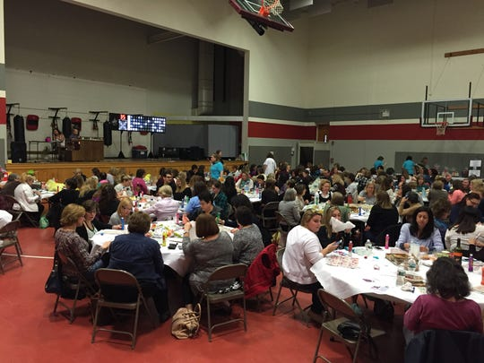 For a very successful BINGO night, 160 turned out and raised more than  $6,000 in support of the Elle Foundation. The event was part of the JCC's March Mitzvah Madness initiative.