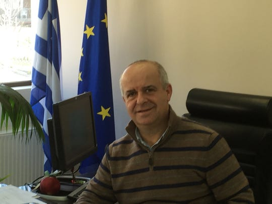 Karpenisi Mayor Nikolaos Souliotis.