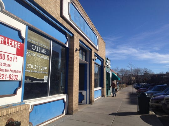 At what is now Illegal Pete's, the former Goodwill building at 320 Walnut St. sits vacant before its sale in 2013.