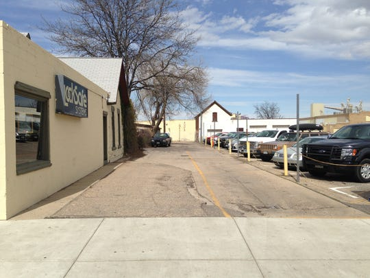 Developers of a new hotel in Old Town Fort Collins purchased a strip of land owned by the city that currently serves as an alley off Walnut Street.