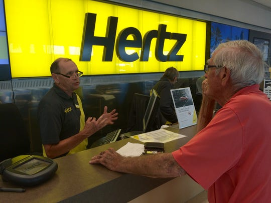 Hertz has returned to the Fortune 500 list.