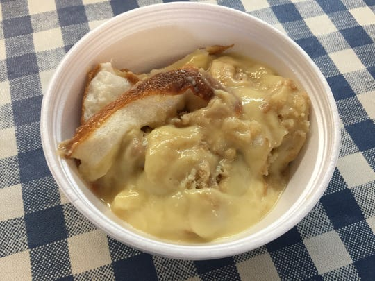 Banana pudding is a crowd fave at Slick Pig BBQ.