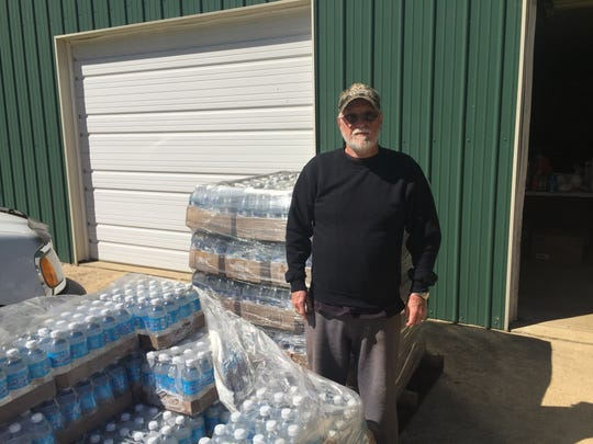Jerry Barfoot has opened his property in the 9000 block