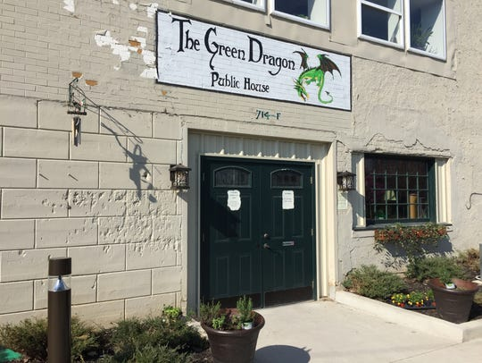 The Green Dragon Public House is located at 714 F.