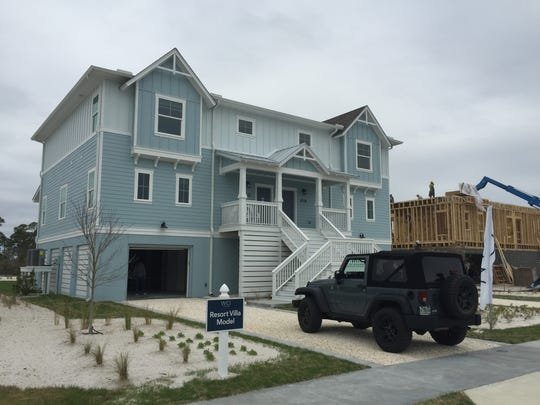 WCI has planned 28 townhome residences to its Lost Key Golf & Beach Club in Perdido Key. Last week, the first eight went up for sale, with prices starting in the $370,000 range.