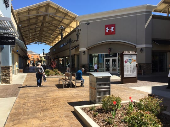 Two new buildings are proposed at the Asheville Outlets site on Brevard Road, which currently includes more than 500,000 square feet of retail space.