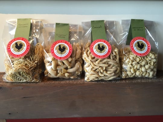 Osteria Tulia is now offering housemade pastas for sale. $9 for a 15 ounce bag.