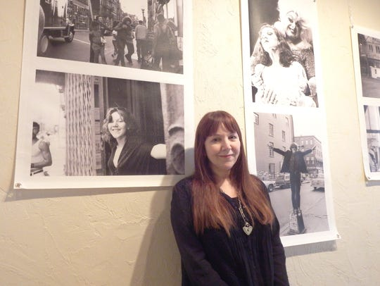 Writer, photographer and actor Lisa Jane Persky stands