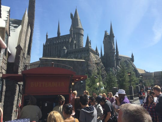 Butterbeer is a fan favorite in the new Wizarding World
