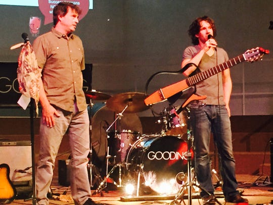 Members of the rock band Gooding discuss personal-finance