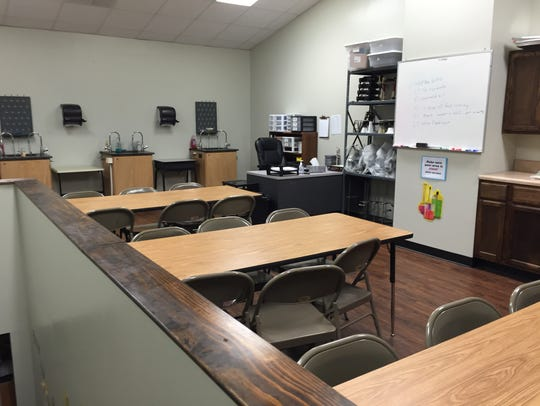 In 2014 a science lab was built at Ridgeview Christian