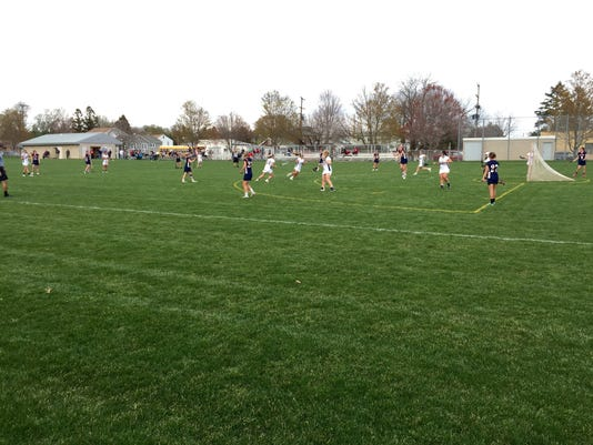 New oxford vs. West york girls lax
