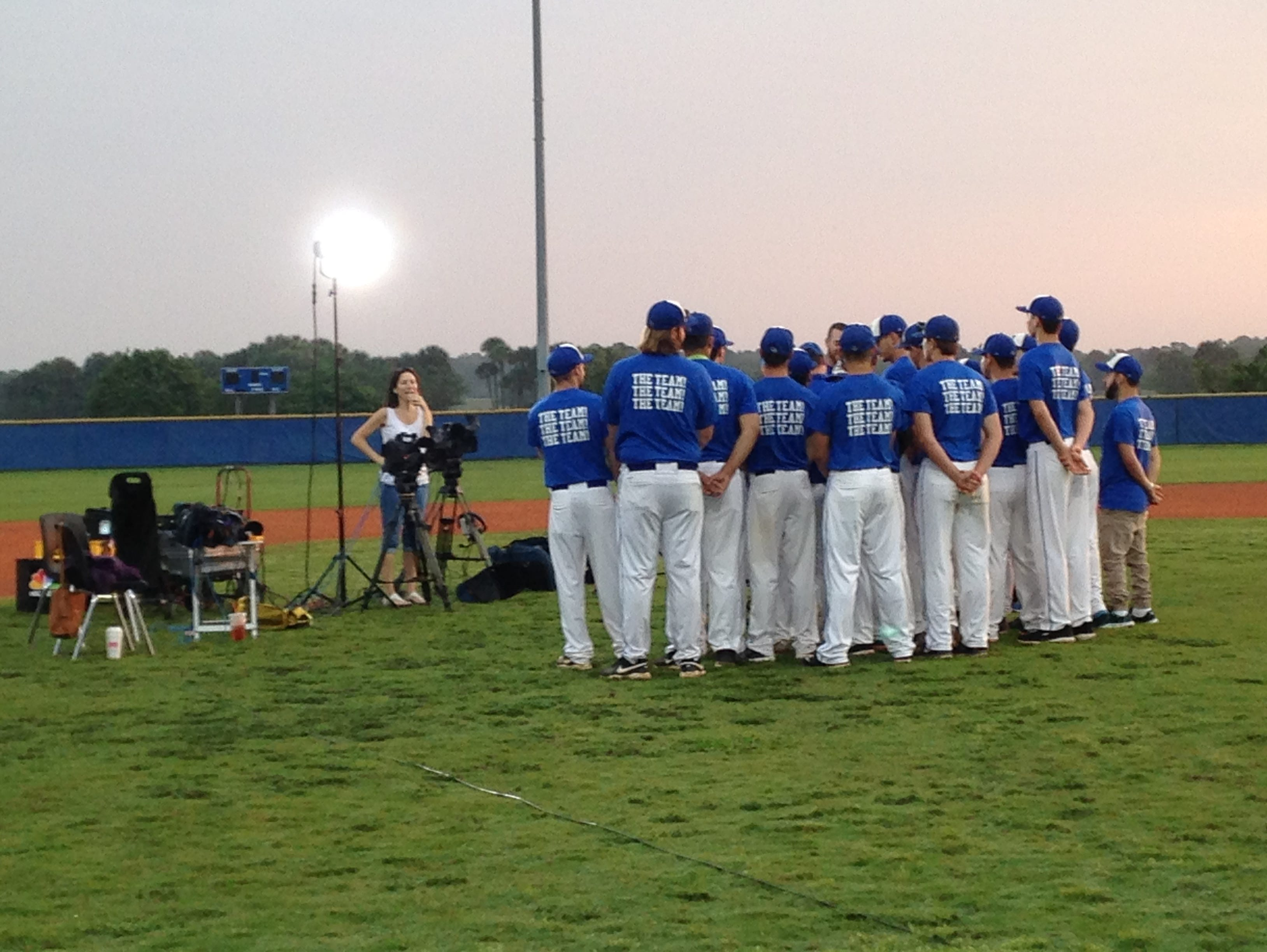 Heritage baseball players and coaches appeared on the Today Show on Saturday.