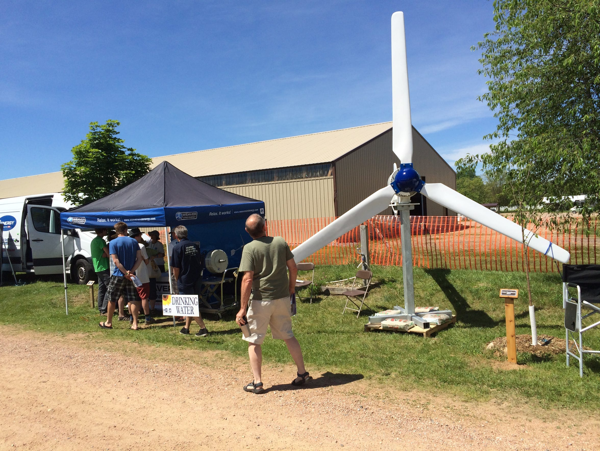 The 27th annual Energy Fair  will be held June 17-19