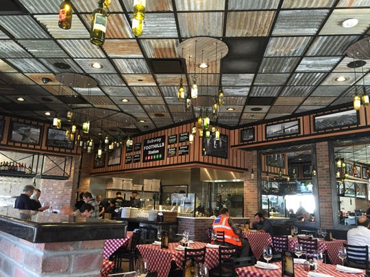Grimaldi's Coal Brick-Oven Pizzeria, 327 E. Foothills Parkway Suite 110, at Foothills Mall.