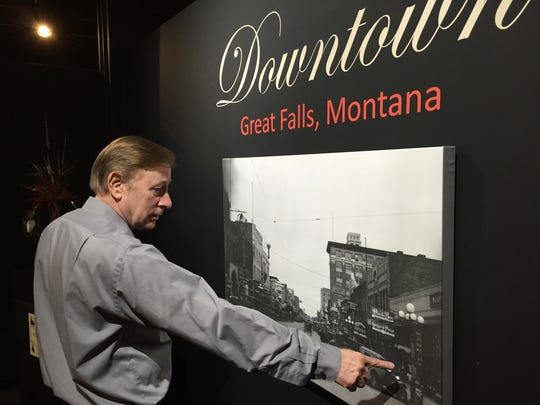 History Museum Director Jim Meinert tells how his staff put together an exhibit on Downtown Great Falls, which is open for free from 10 a.m. to 5 p.m., Tuesdays to Thursdays at 422 2nd St. S.