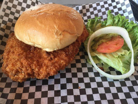 The breaded pork tenderloin at Nick's uses the Townhouse