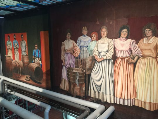 When you tour Yuengling, you'll get a bit of history.
