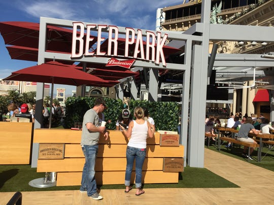 Beer Park is a new rooftop bar and grill that fronts