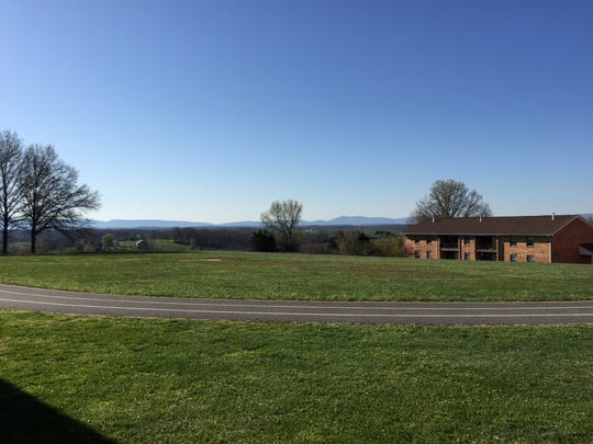 Verona Elementary School has one of the prettiest views of any school in the county.