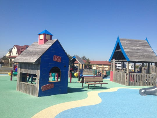 Tony's Place is an accessible playground at Seven Presidents