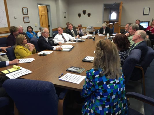 Staunton City Council and School Board joint meeting