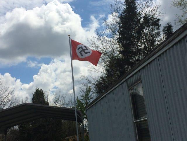Property owner's Nazi flag upsets neighbors in Tenn