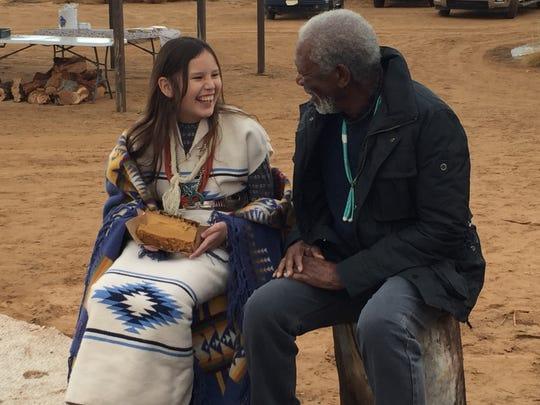 On the last day of the Navajo Kinaaldá ceremony, Kinaaldá