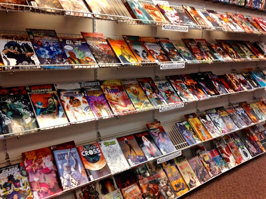 Comic books count in our Super Summer Reader Club program, too. Comic Fortress in Somerville offers tons of comic books.