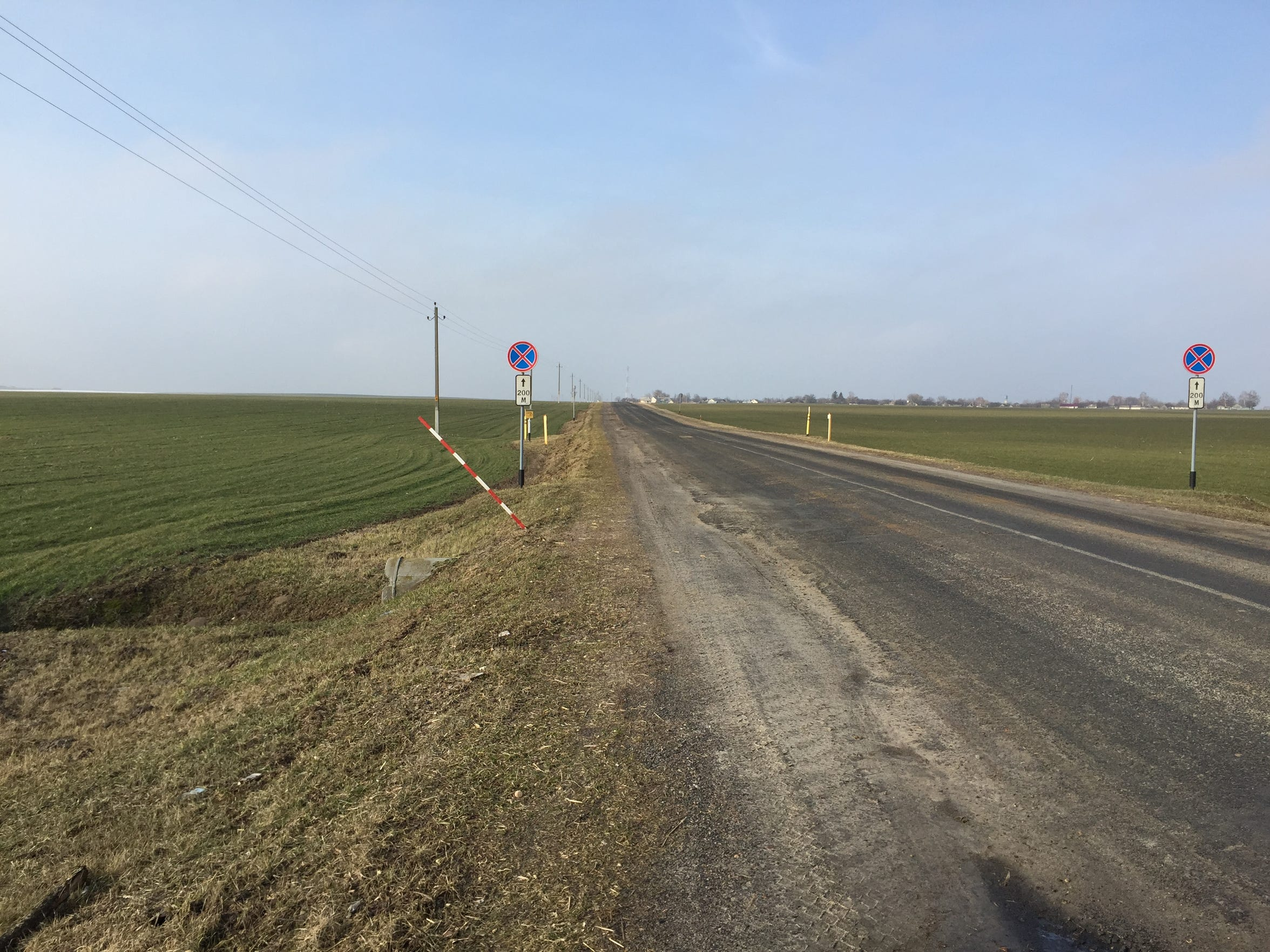 Rural Belarus, near the border with Ukraine.