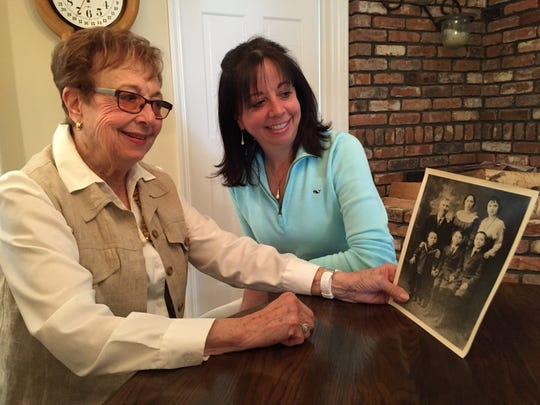 Dotty Epstein of Metuchen and her daughter, Cathy Thompson