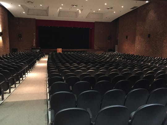 The auditorium at Waynesboro High School seats over 1,000 people and is the largest single meeting place in the city and is often used by the community. This contributed to the wear and tear of an already well-used auditorium.