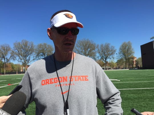 OSU head coach Gary Andersen likes the work ethic of