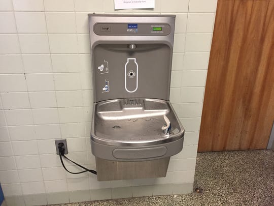 A group of students researched bottle filling stations and pitched the idea to school division administrators, who agreed to fund the installation of six stations. So far 50,000 bottles have been filled.