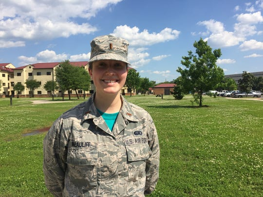 Lt. Molly McAuliff envisioned and organized the first